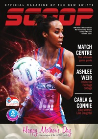 online magazine - NSW Swifts SCOOP - Issue 3, Volume 6