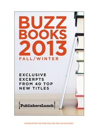 online magazine - Buzz Books 2013 Fall/Winter
