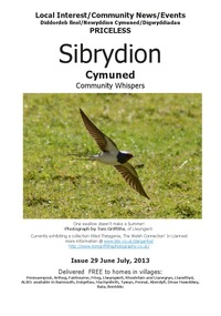 online magazine - Sibrydion Cymuned June/July 2013 - issue 29