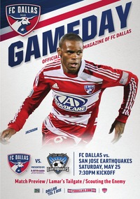online magazine - May 25 vs. San Jose Earthquakes