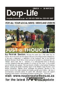 online magazine - Dorp-Life Issue 29 - 28 May 2013