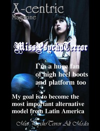 online magazine - Miss PsychoTerror, who is she really?