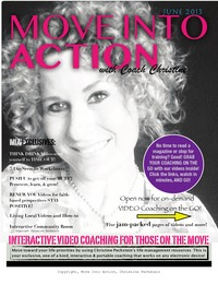 online magazine - Move Into Action, June 2013