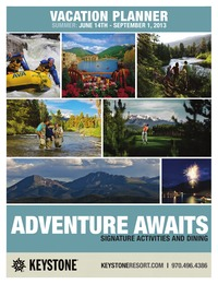 online magazine - Summer Adventure Guide
