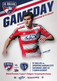 online magazine - 6/22 FC Dallas vs Sporting Kansas City