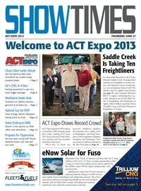 online magazine - ShowTimes Clean Fuels & Vehicles - June 27, 2013