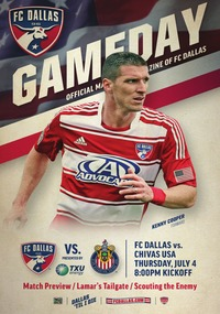 online magazine - 7/4 FC Dallas vs Chivas USA