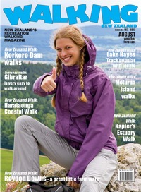 online magazine - Walking New Zealand 187 August 2013