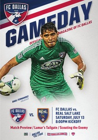 online magazine - 7/13 FC Dallas vs Real Salt Lake