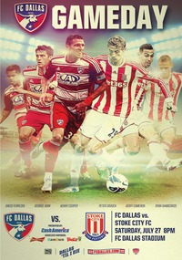 online magazine - 7/27 FC Dallas vs. Stoke City