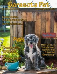online magazine - Sarasota Pet - August/September 2013