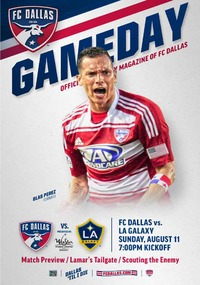online magazine - 8/11 FC Dallas vs. LA Galaxy