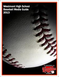online magazine - 2013 Westmont Baseball Media Guide