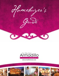 online magazine - Armadillo Homes Homebuyers Guide 2013