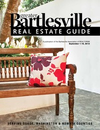 online magazine - Bartlesville Real Estate Guide Sept. 1-15,2013 Issue