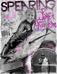 online magazine - V.6.3 The Real Women of Spearfishing.