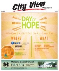 online magazine - City View Magazine - August 2013 Issue