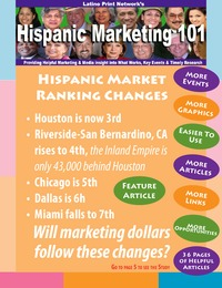 online magazine - Hispanic Marketing 101, 2013 9.5