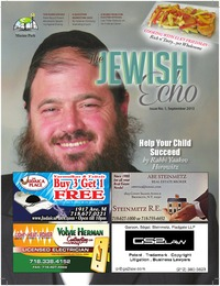 online magazine - The Jewish Echo Magazine / September 2013
