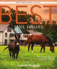 online magazine - BEST Fine Homes Fall 2013