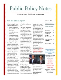online magazine - Public Policy Notes Volume 6, Issue 9