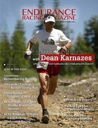online magazine - Endurance Racing Magazine: Dean Karnazes - The Marathon Issue