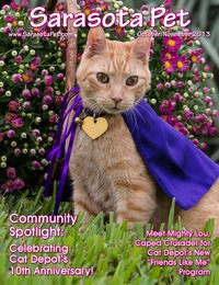 online magazine - Sarasota Pet - October/November 2013 Issue