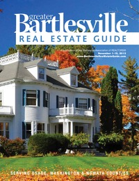 online magazine - Bartlesville Real Estate Guide Nov. 1-15, 2013 Issue