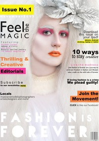 online magazine - Fashion is Forever Magazine Issue No.1