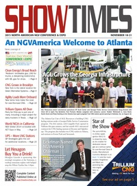online magazine - ShowTimes Clean Fuels & Vehicle - November 19, 2013