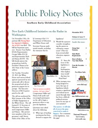 online magazine - Public Policy Notes Volume 6, Issue 11