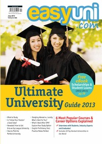 online magazine - EASYUNI Ultimate University Guide 2013