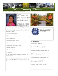 online magazine - Will County Times