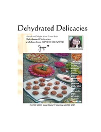 online magazine - Dehydrated Delicacies with Joyce Oliveto Signed Edition
