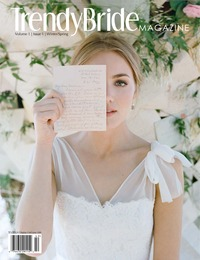 online magazine - Trendy Bride Magazine Volume 1 Issue 1 Winter/Spring