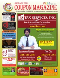 online magazine - IS Coupon Magazine January  2014