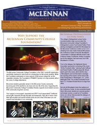 online magazine - Winter 2013 Foundation Newsletter