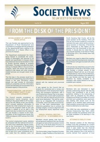 online magazine - Society News August 2013