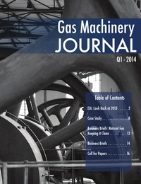 online magazine - Gas Machinery Journal - First Quarter 2014