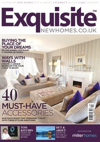 online magazine - Exquisite New Homes Magazine for Miller Homes 2014