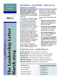 online magazine - Leadership Letter Vol. 8 Issue 2
