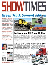 online magazine - ShowTimes Green Truck Summit Edition - March 4-5, 2014
