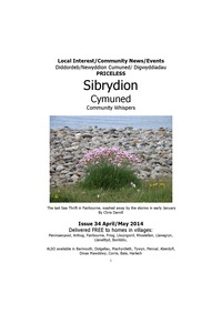 online magazine - Sibrydion Cymned April May 2014