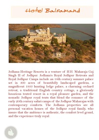 online magazine - hotels of rajasthan(monsoon india tours)