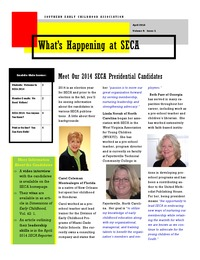 online magazine - What's Happening at SECA - Volume 9: Issue 1