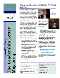 online magazine - Leadership Letter Vol. 8 Issue 3