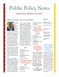online magazine - Public Policy Notes Volume 7, Issue 4