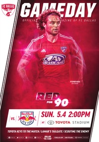 online magazine - 5/4 vs. NY Red Bulls