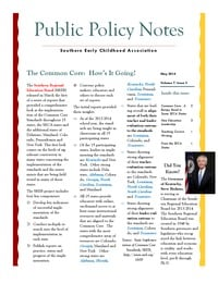 online magazine - Public Policy Notes Volume 7, Issue 5