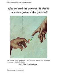 online magazine - If God is the answer, what is the question?